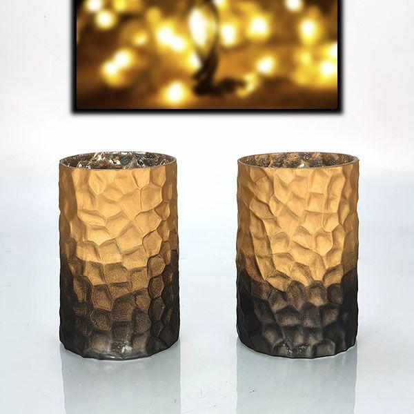 2 x Official Yankee Halloween Pillar Candle Vase Holders £3 delivered @ Yankee Bundles