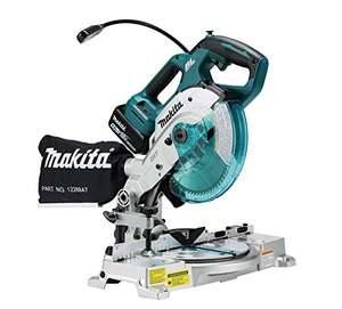 Makita DLS600Z 18V Li-ion LXT 165mm Brushless Mitre Saw – No Batteries Included, 680W, 18V, Blue, 165mm £308.97 @ Amazon