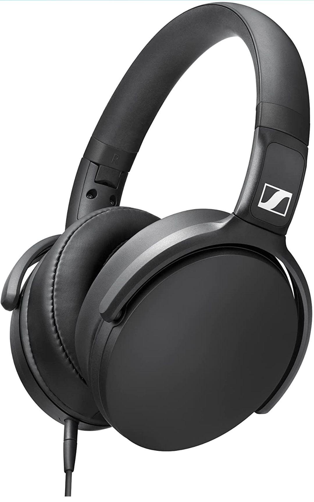 Sennheiser HD 400S - Over-Ear Headphone with Smart Remote, Black - £41.94 @ Amazon