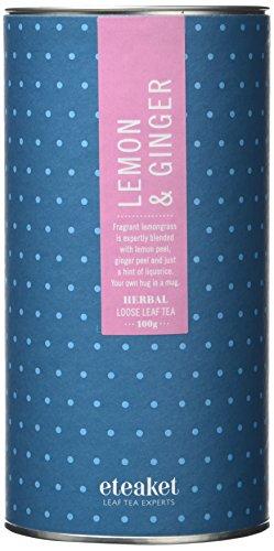 Eteake Lemon and Ginger Tea 100 g (Pack of 3 - 300g) - £4.28 (+£4.49 Non-Prime) @ Amazon