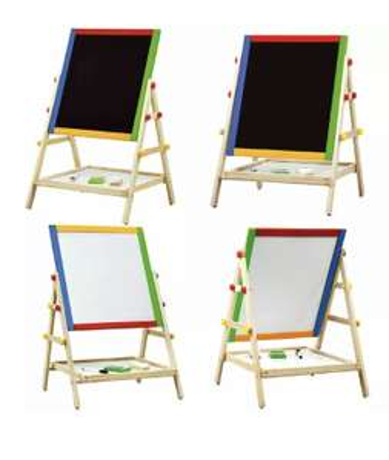 2 in 1 White Board other side Black Board 66x40x38cm scanning for 10p in Tesco (Shettleston)