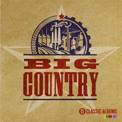Big Country 5 Classic Albums CD Boxset - £5.51 (+£4.49 Non-Prime) @ Amazon