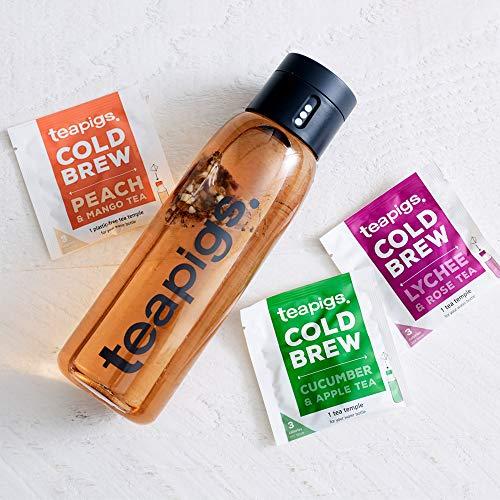 Teapigs Cold Brew Tea Set (1 Joseph and Joseph Bottle and 3 Teapigs Cold Brew Tea Bags) - £4.76 (+£4.49 Non-Prime) @ Amazon