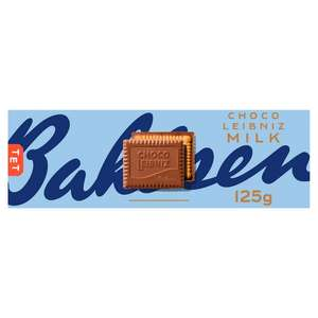 Bahlsen Choco Leibniz Biscuits 125g Milk Chocolate / Dark Chocolate / Chocolate Orange - £1 @ Sainsbury's
