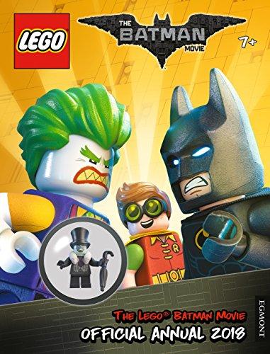 The Lego® Batman Movie Official Annual includes The Penguin White Fur Collar Minifigure (70909) £2.91 Prime/ +£2.99 non Prime at Amazon