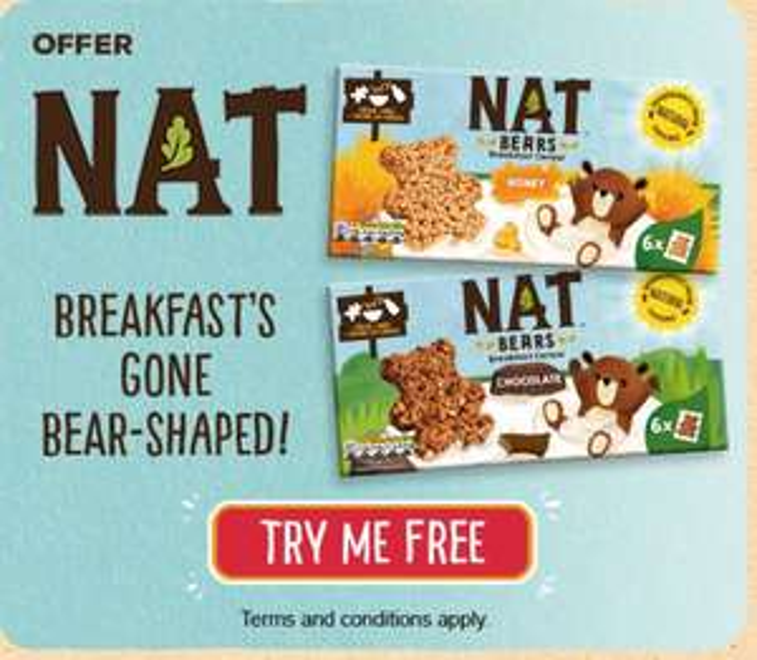 Register to Get Nat Bears for Free @ nestle-cereals