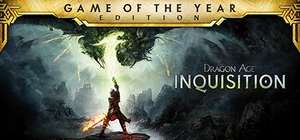[Steam] Dragon Age Inquisition Game Of The Year Edition (PC) - £5.24 @ Steam Store