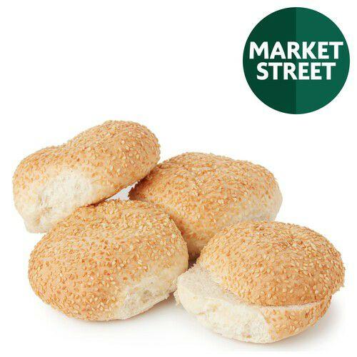 Market Street Burger Sesame Buns - 8 (4 per pack X 2) - £ 0.90 @ Morrisons
