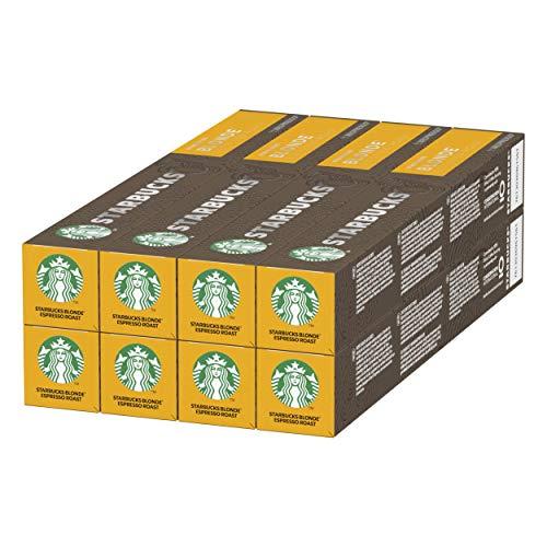 Starbucks Blonde Espresso Roast (80 Capsules) - £17.22 (+£4.49 Non-Prime) / £15.50 S&S @ Amazon