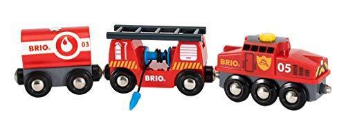BRIO World Fire & Rescue Train - £12.04 (+£4.49 Non-Prime) @ Amazon