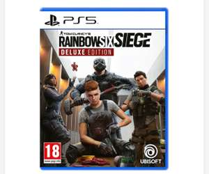 Tom Clancy's Rainbow Six Siege – Deluxe Edition PS5 - £16.99 delivered / free click+collect