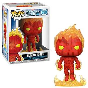 Funko Pop! Fantastic Four: Human Torch - £2.00 Prime / £6.49 Non Prime - Sold by 247Megadeals and Fulfilled by Amazon