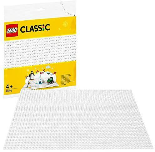 LEGO Classic 11010 White 32x32 Baseplate - £5.30 (+£4.49 non-prime) (UK Mainland) Sold by Amazon EU @ Amazon