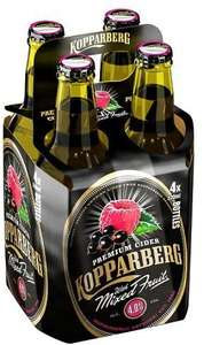 Kopparberg mixed fruit cider 4x330ml bottle £2.66 instore at Tesco (found Broughton)