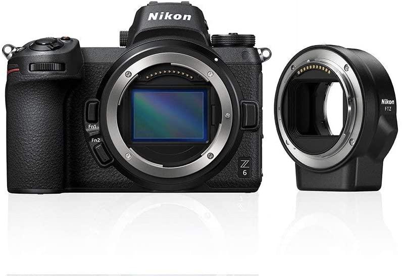 Nikon Z6 + FTZ Mirrorless Camera Kit £1338.16 at Amazon