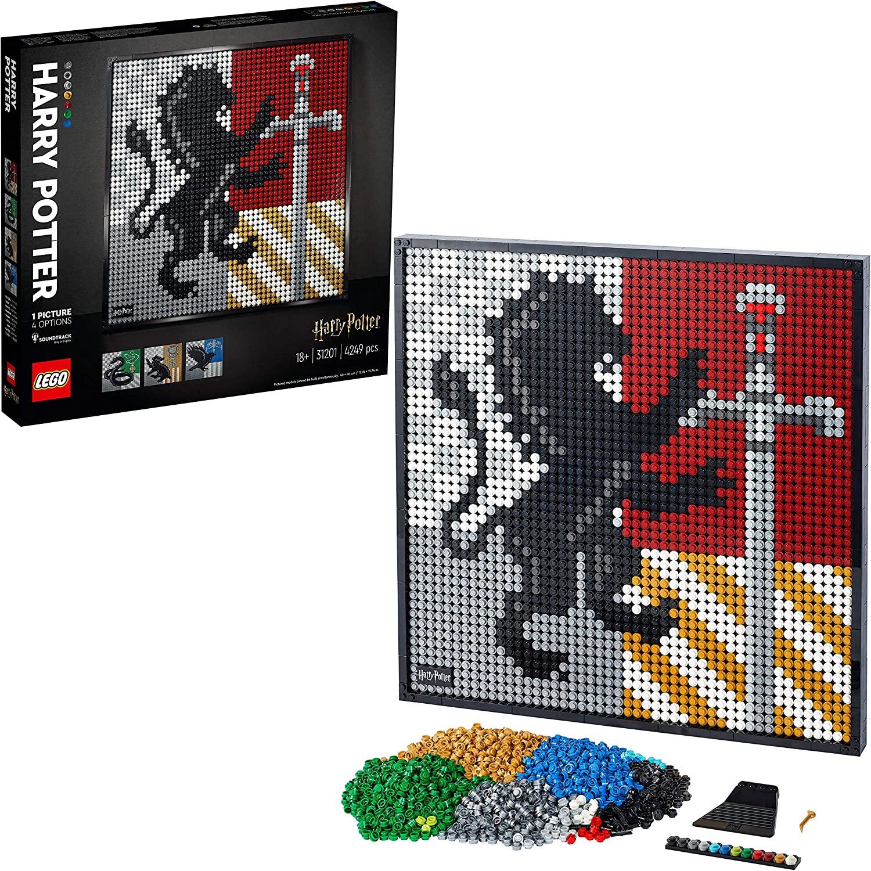 LEGO 31201 Harry Potter Hogwarts Crests £75.34 (UK Mainland) Sold by Amazon EU @ Amazon