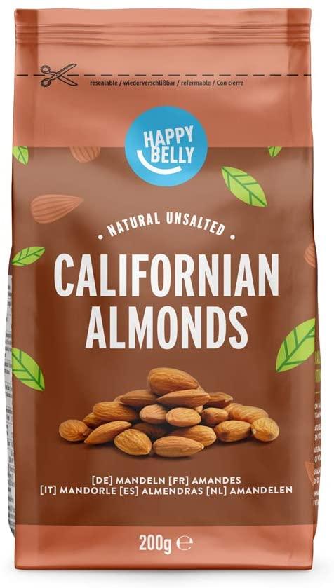 Californian Almonds 200g £1.46 Prime at Amazon (+£3.99 non Prime)