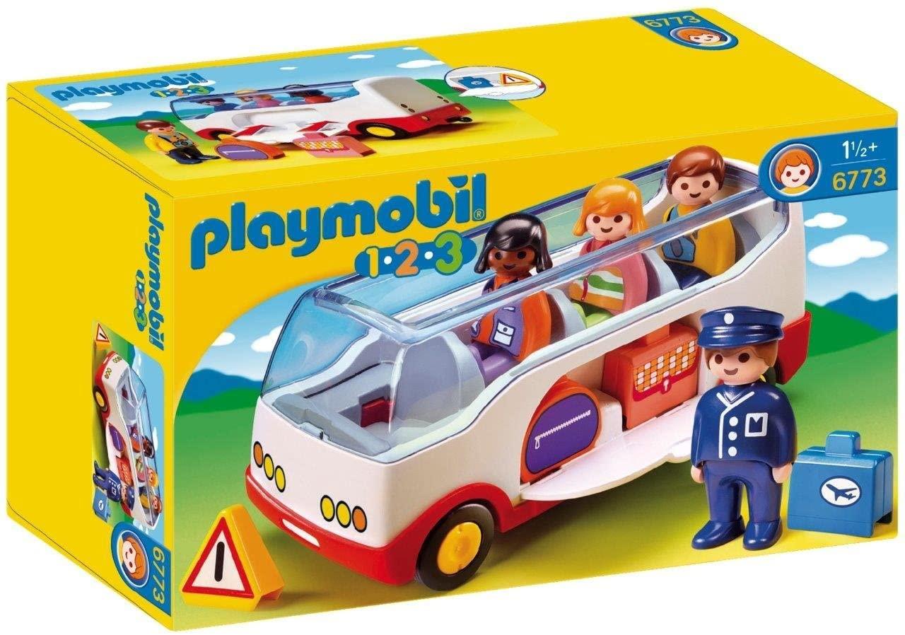 Playmobil 6773 1.2.3 Airport Shuttle Bus £5.97 @ Amazon (+£4.49 non Prime)