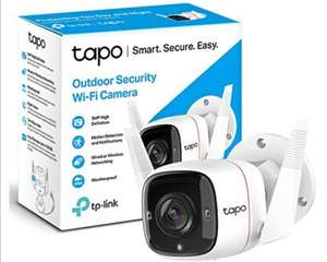 TP-Link Tapo Outdoor Security Camera/CCTV £39.99 @ Amazon