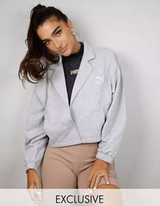 Puma X Stef Fit Cropped Jacket Now £20.63 with code Delivery is £4 or Free with premium or £35 spend @ ASOS