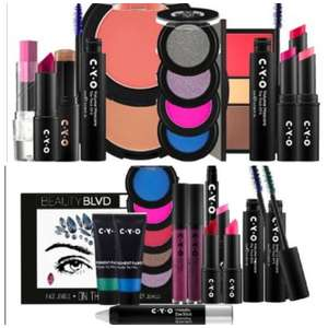 CYO Bold & Bright Cosmetics Bundle / CYO Experiment Cosmetic Bundle - Both £10 each (Free collection) @ Boots