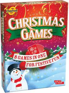 Cheatwell Games Christmas Trivia & Card Games for The Whole Family £4.27 (+£4.49 Non Prime) @ Amazon