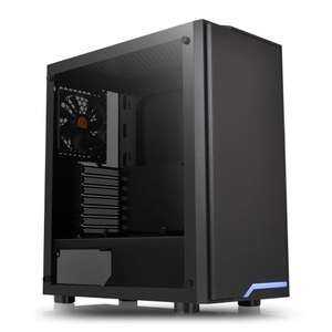 Thermaltake H100 Tempered Glass Mid Tower PC Case, £43.98 delivered at Scan
