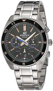 Casio Edifice Men's Chronograph Silver Bracelet Watch, £50.88 (Mainland UK Delivery) sold by Amazon US at Amazon