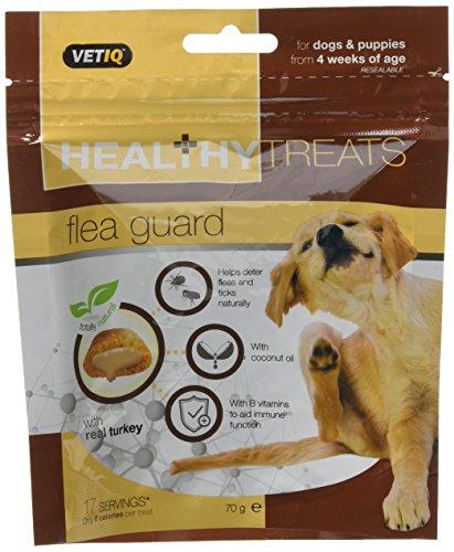 VetIQ Flea Guard Dog Treats, 70 g (pack of 6) £6.21 (+£4.49 Non Prime) @ Amazon
