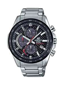 Casio Edifice Chronograph Solar Powered Carbon Fibre Dial Watch, £75.52 sold by Amazon US at Amazon (Mainland UK Delivery)