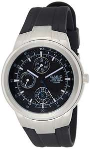 Casio Men's EF305-1AV Edifice Multifunction Watch with Black Resin Band, £30.34 sold by Amazon US at Amazon (UK Mainland)