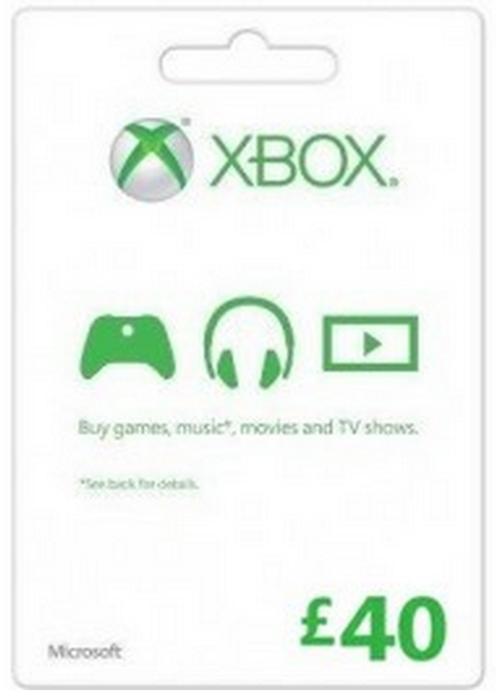 MICROSOFT GIFT CARD - £40 (XBOX ONE/360) - £36.99 @ CDKeys