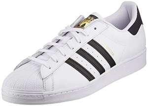 Adidas Superstar Mens Trainers White/Black/Gold £42.95 @ Amazon