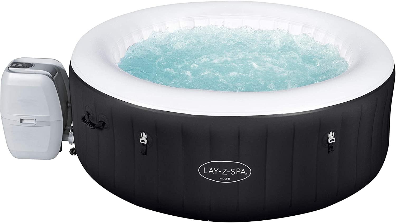Lay-Z-Spa Miami Hot Tub 2-4 Person £450.29 @ Amazon