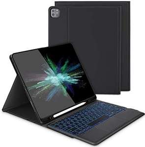 Keyboard Case with Touchpad for iPad pro 12.9 2021/ 2020 / 2018 £9.99 (+£4.49 Non Prime) Sold by Oleis and Fulfilled by Amazon
