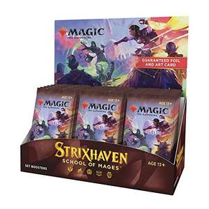 Magic The Gathering Strixhaven: School of Mages Set Booster Display Box 30 packs £75.26 at Amazon