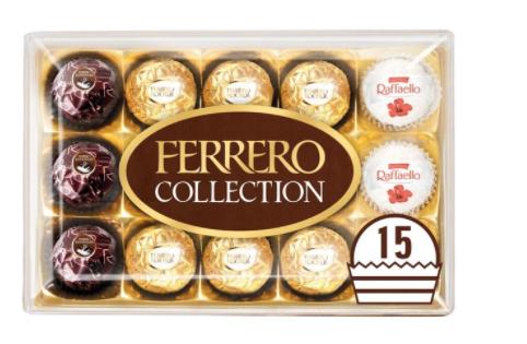 Ferrero collection, 15 piece gift box £4 @ Asda