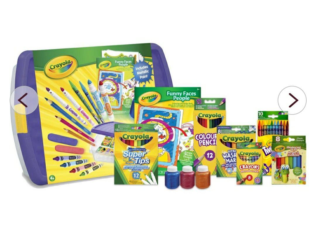 Crayola Mega Activity Tub £10 @ Hobbycraft - Free click and collect