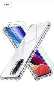 For Poco F3 5g, 3 tempered glass protectors and one transparent case £6.80 prime / £11.29 non prime (UK Mainland) Sold by Amazon EU @ Amazon