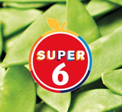 ALDI SUPER 6 - Mango, 59p, Avocadoe 59p, 145g Baby Corn 89p, 4 pack Large Oranges 99p, 200g Cherries 99p, 6 pack PinKids Apples 99p