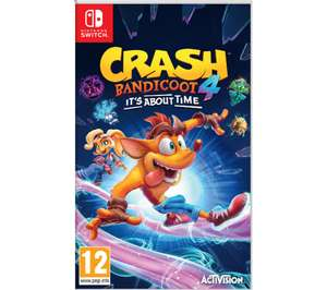 Crash Bandicoot 4: It's About Time (Nintendo Switch) £34.99 Delivered using code @ Currys PC World