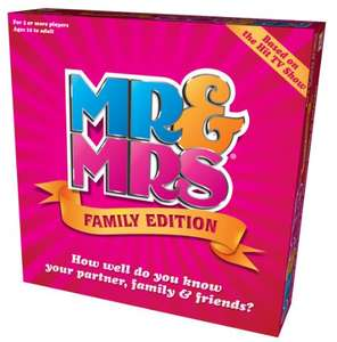 Mr & Mrs Family Edition Game £7.24 (Prime) + £4.49 (non Prime) at Amazon