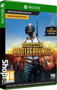 [Xbox One] Playerunknown's Battlegrounds (PUBG) (Code In A Box) - £1.85 delivered @ ShopTo