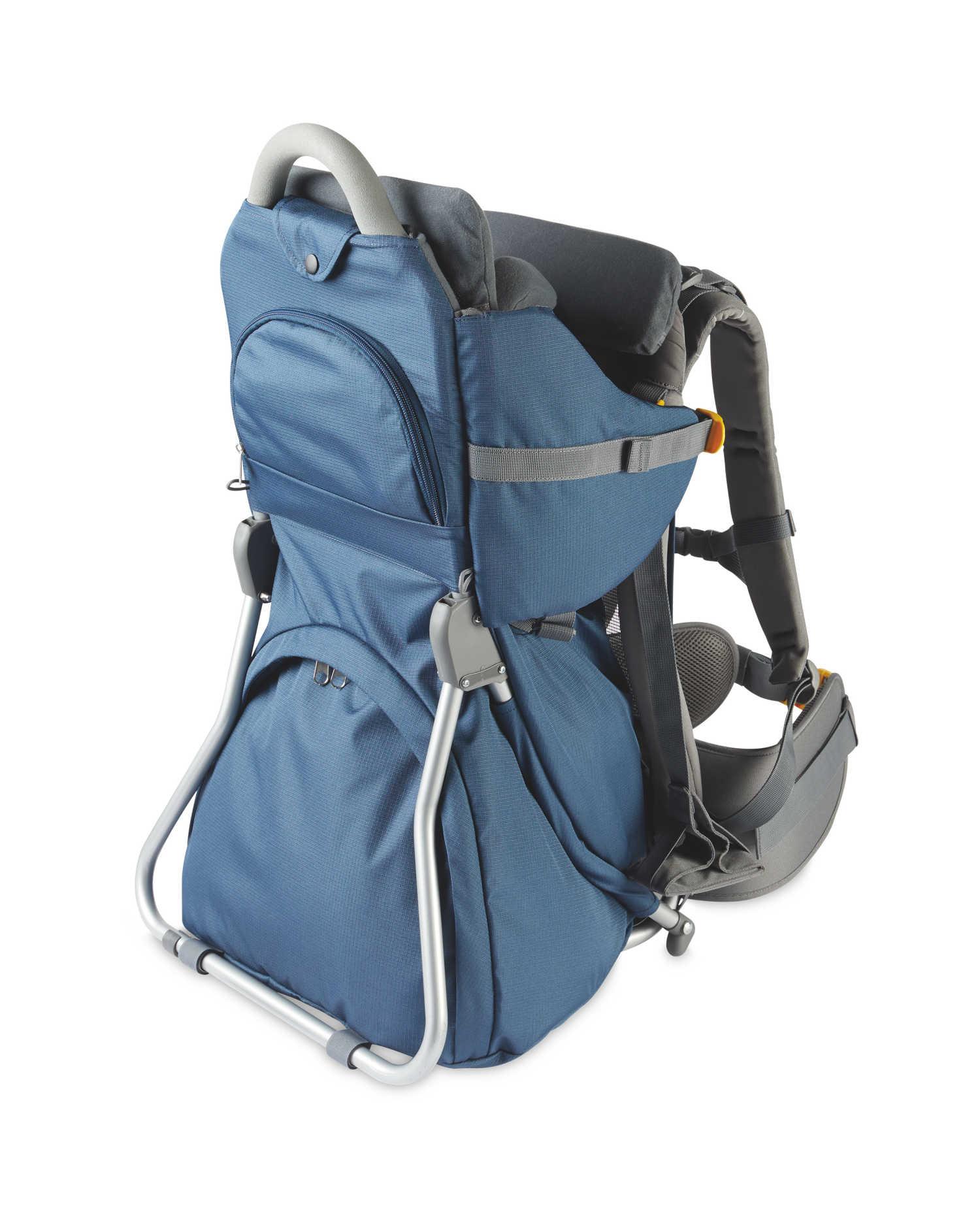 Blue Hiking Baby Carrier £73.94 delivered at Aldi