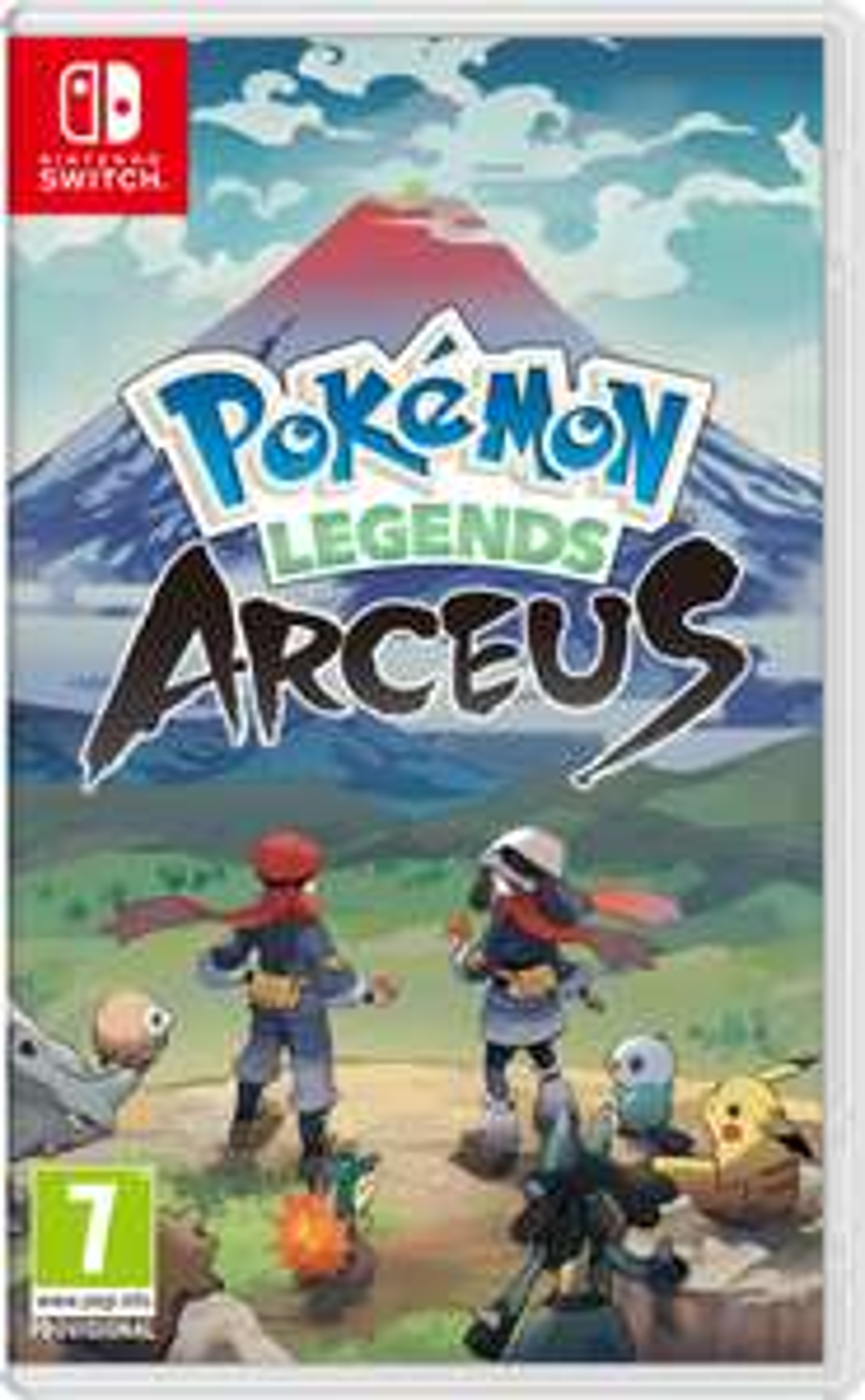 Pokemon Legends Arceus - Nintendo Switch (Pre Order) - £42.85 @ Base