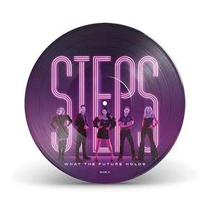 Steps - What the Future Holds Amazon UK Exclusive Picture Disc Vinyl - £4.93 (+£2.99 nonPrime) (UK Mainland) Sold by Amazon EU @ Amazon