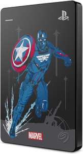 Seagate Game Drive Marvel's Avengers Captain America, 2TB - External Hard Drive, USB 3.0, PS4/PS5 compatible - £48.60 @ Amazon