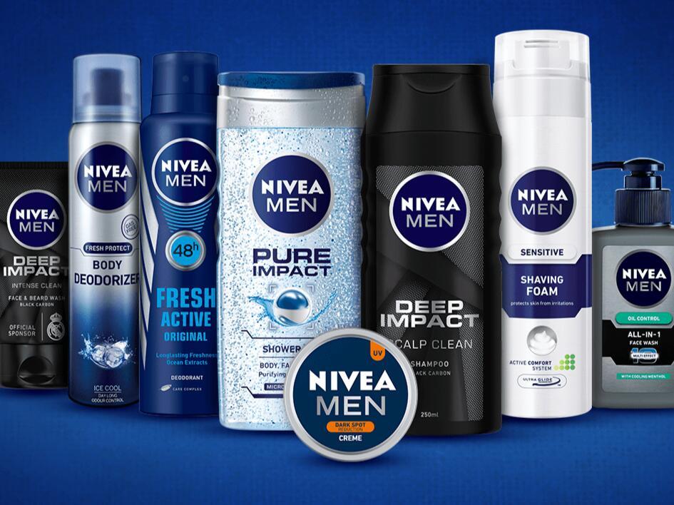 Selected Nivea Men Skincare, Shower Gels & Deodorants from £1.03 (Free collection) @ Superdrug