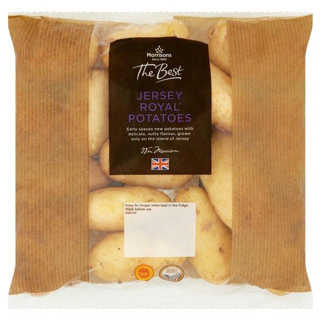 Morrisons The Best Jersey Royals 1kg 74p / Asparagus Tips 125g 92p / Romaine Lettuce Hearts 2 Pack 50p @ Morrisons