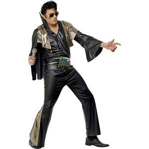 Large Smiffys Officially Licensed Elvis Presley Costume £24.05 delivered at Amazon